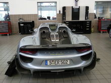 One of the 918 test mules in South Africa