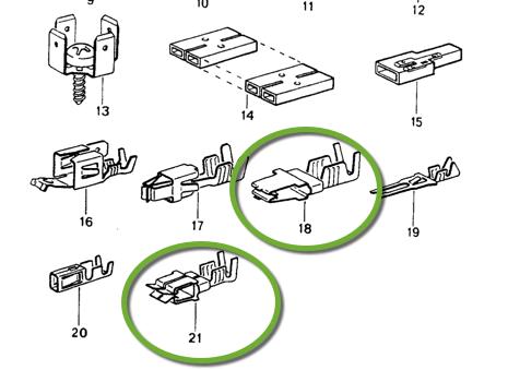 electrical crimped connector in fuse box - rennlist - porsche discussion  forums  rennlist