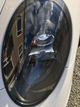 991 Headlight Left (top view)