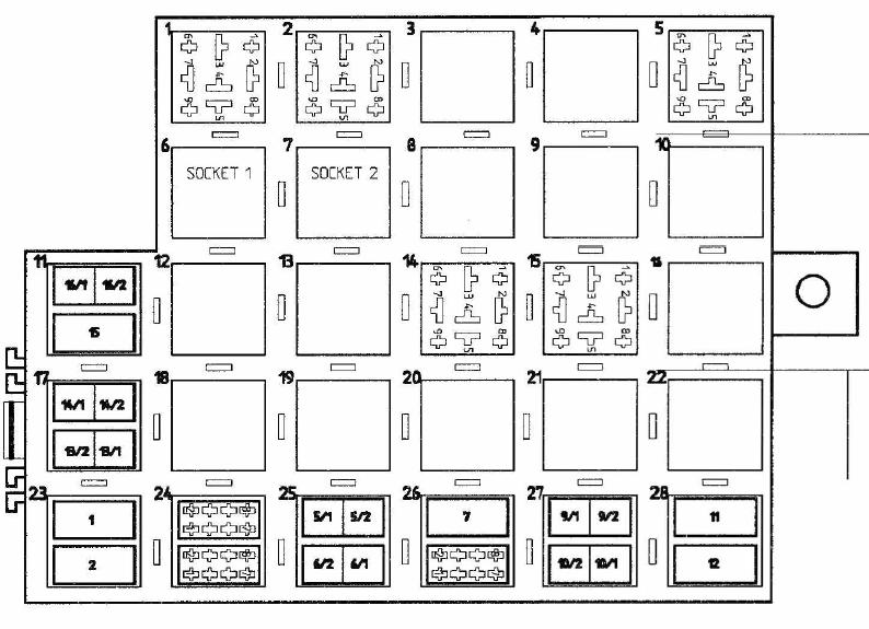 i need a 996 relay diagram rennlist porsche discussion forums