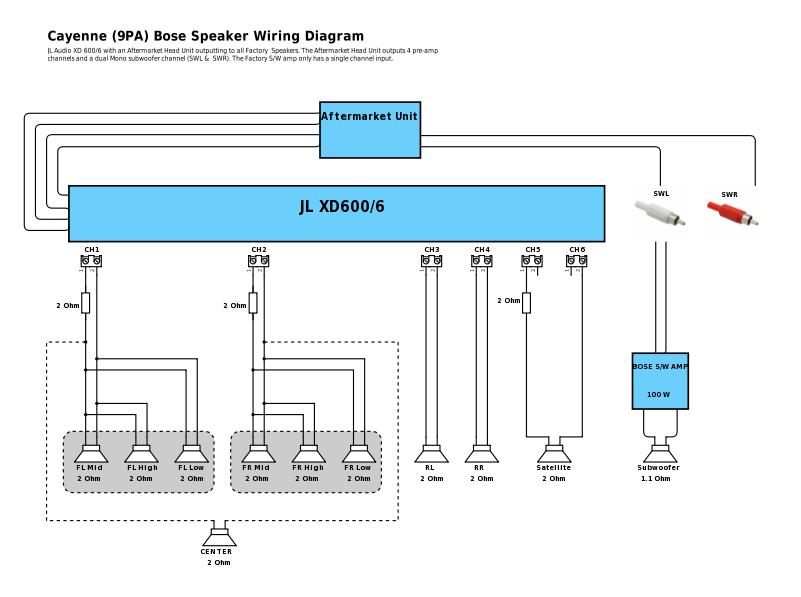 Speakers In Parallel With Bridged Center - Rennlist