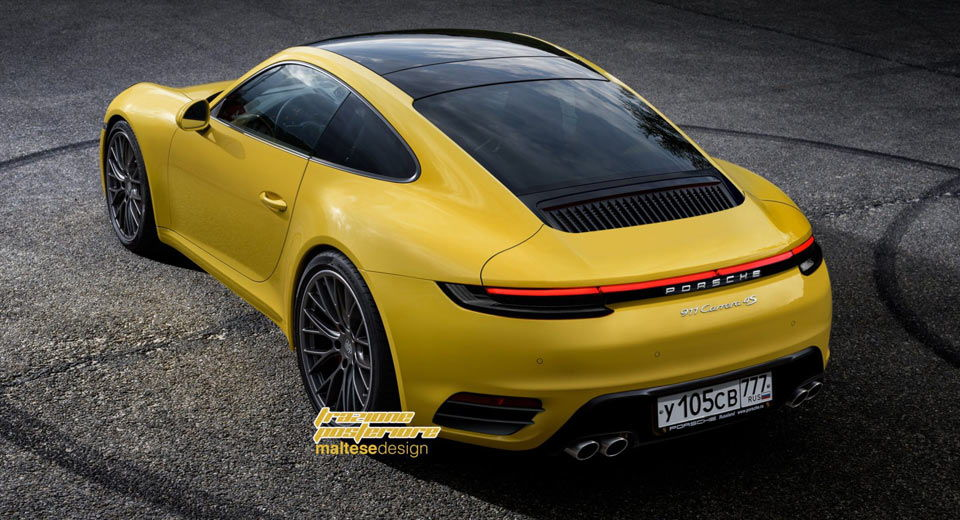 San Diego Porsche >> 2019 Porsche 911 rendering - Rennlist - Porsche Discussion Forums
