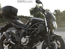 Suzuki SFV650 2010 Mirrors:Fist2nd