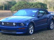 2007 Vista Blue GT/CS Convertible