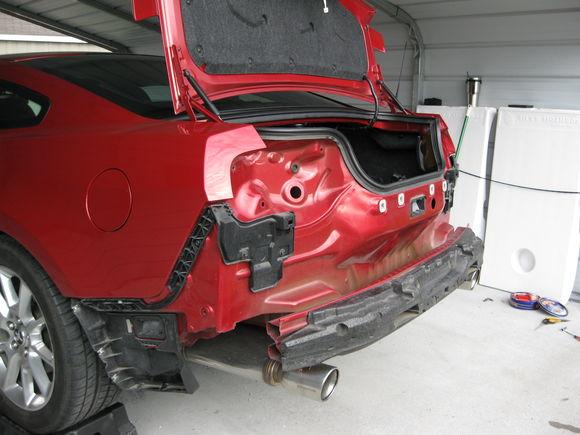 Installing GT500 Diffuser