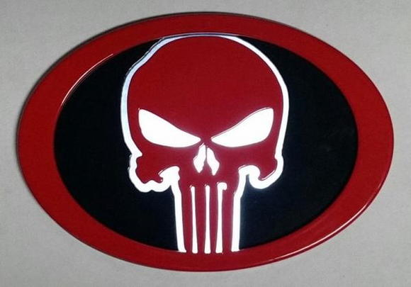Punisher Grille Emblem (Backlighting In Ambient Light).