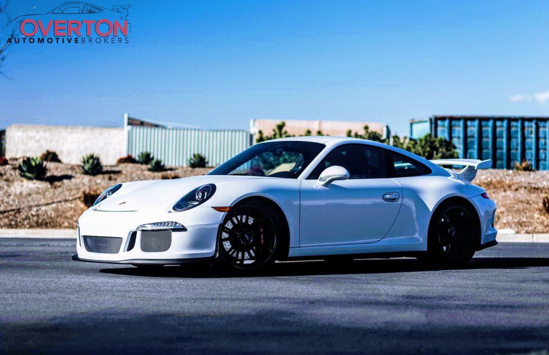 2015 Cpo Certified Porsche 911 991 Gt3 In Carrera White
