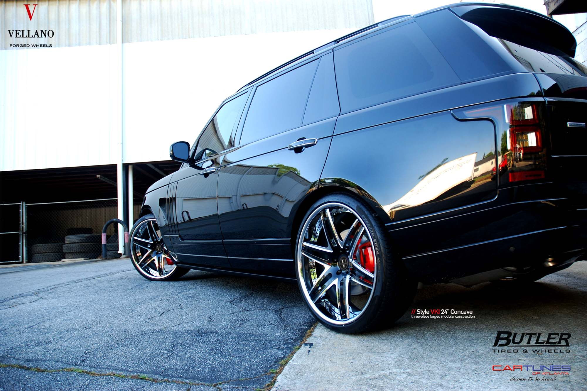 "Cheap Cars Nj >> Range Rover with 24"" VELLANO VKI Forged Concave with heels - deep lip - 6SpeedOnline - Porsche ..."