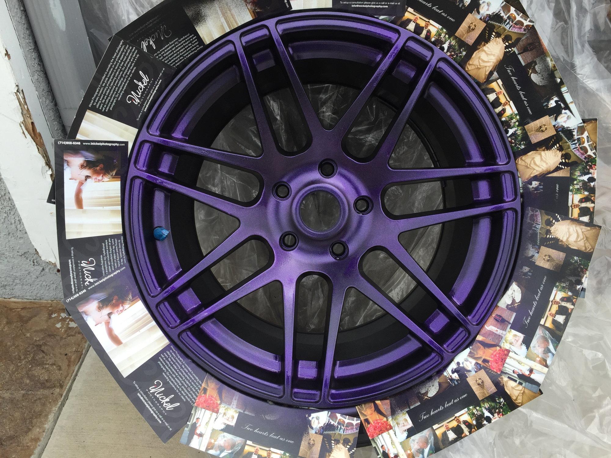 Plasti Dip Wheels - 6SpeedOnline - Porsche Forum and Luxury