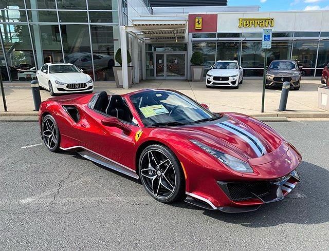 Ferrari 488 Pista Spider In Virginia 6speedonline Porsche Forum And Luxury Car Resource