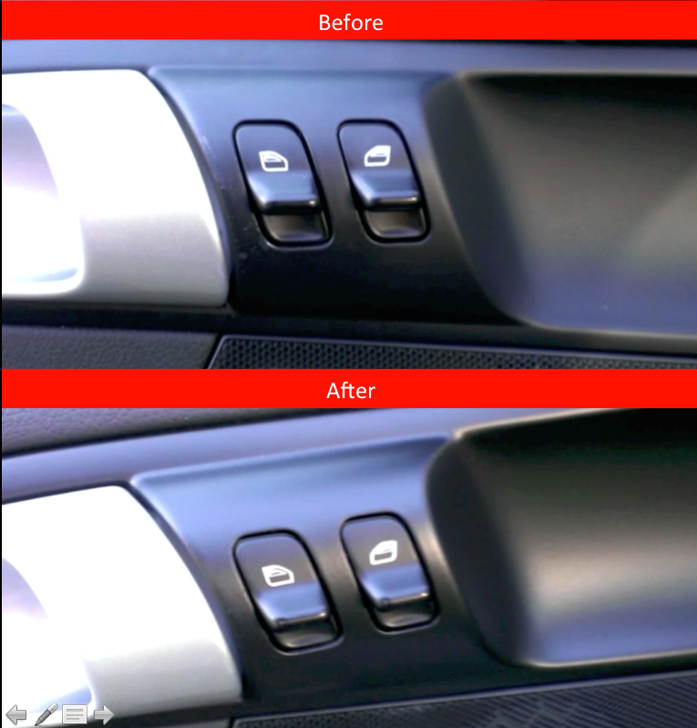 Plasti Dipped Interior Plastic Trim 6speedonline Porsche Forum And Luxury Car Resource