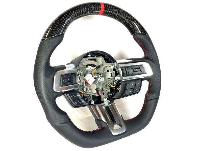 Dctms Steering Wheel Projects For 2015 Up Ford Mustang