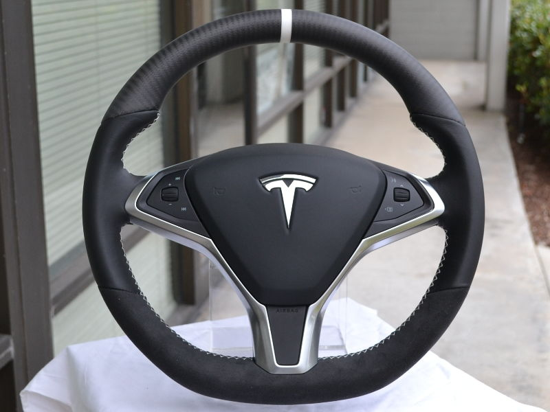 DCTMS Tesla Model S Steering Wheel Projects 6SpeedOnline