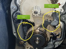"Bottom left is the ""puck"" i moved.