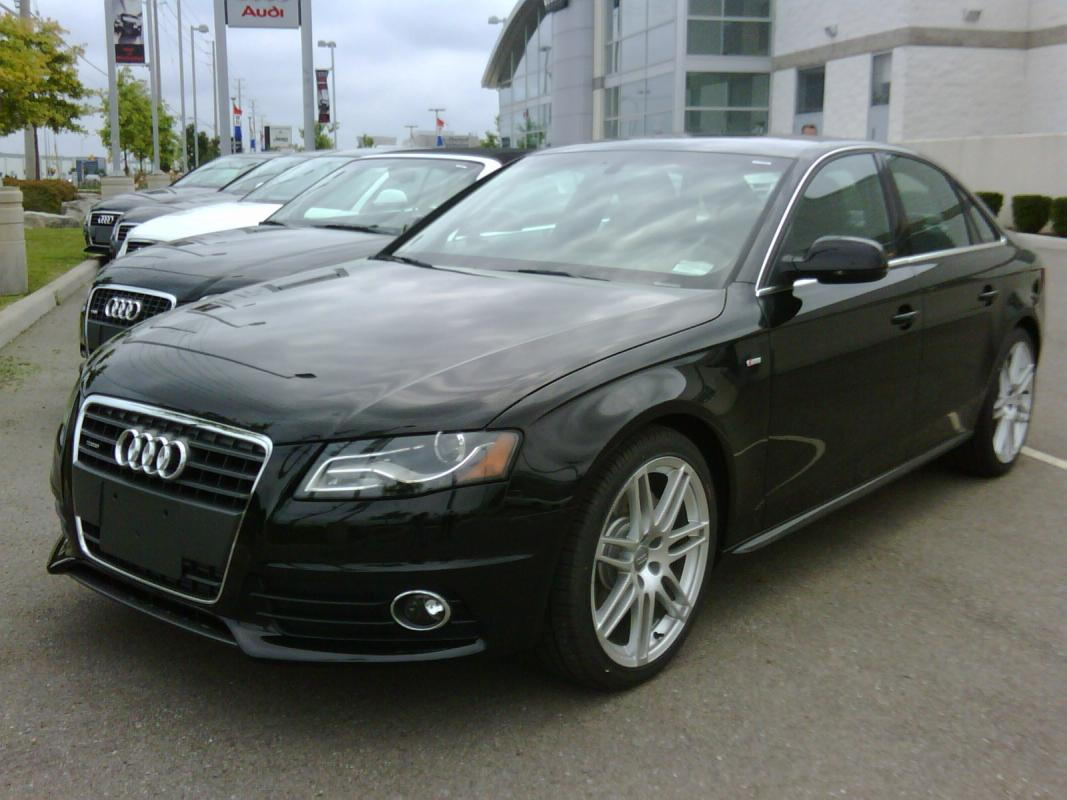 2010 Audi A4 20t Premium with sline package