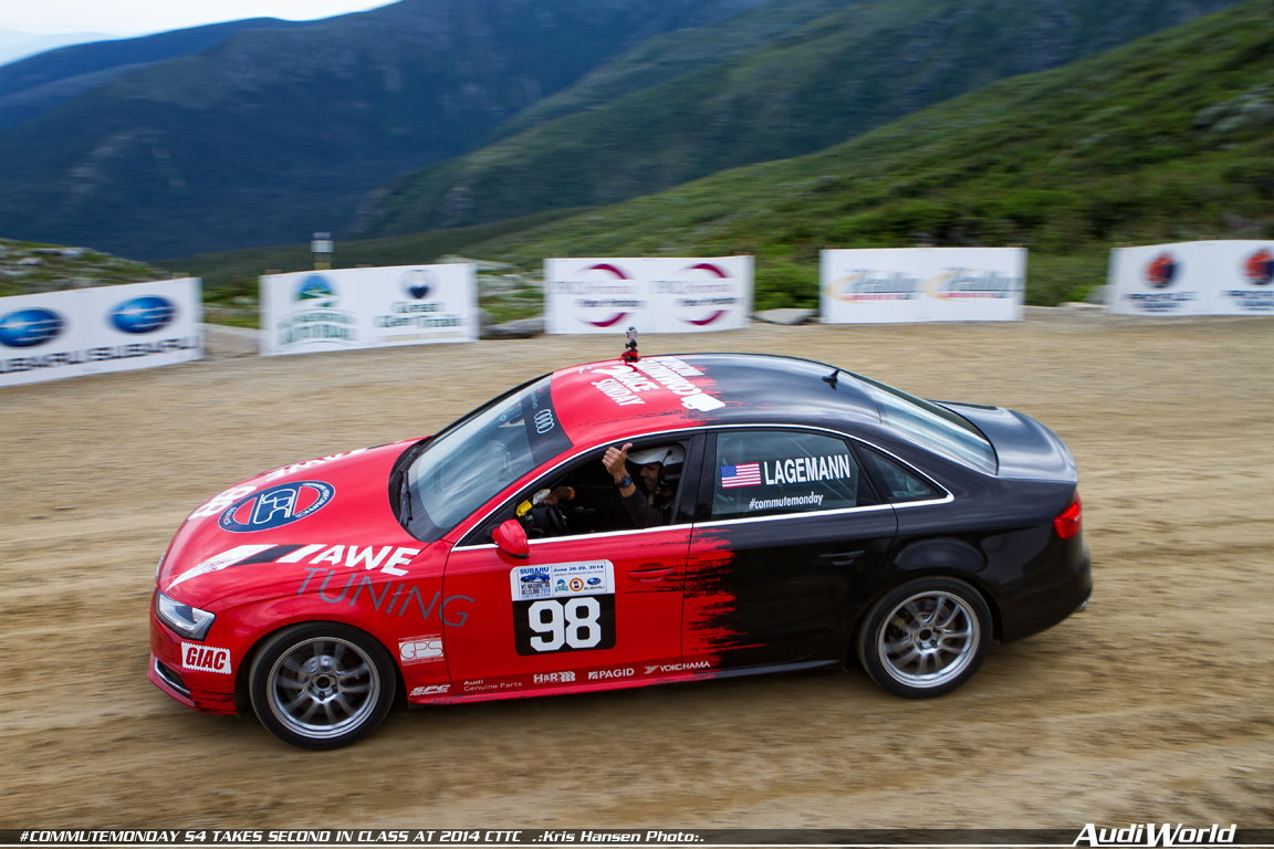 COMMUTEMONDAY B8 5 S4 TAKES SECOND IN CLASS, FOURTH OVERALL