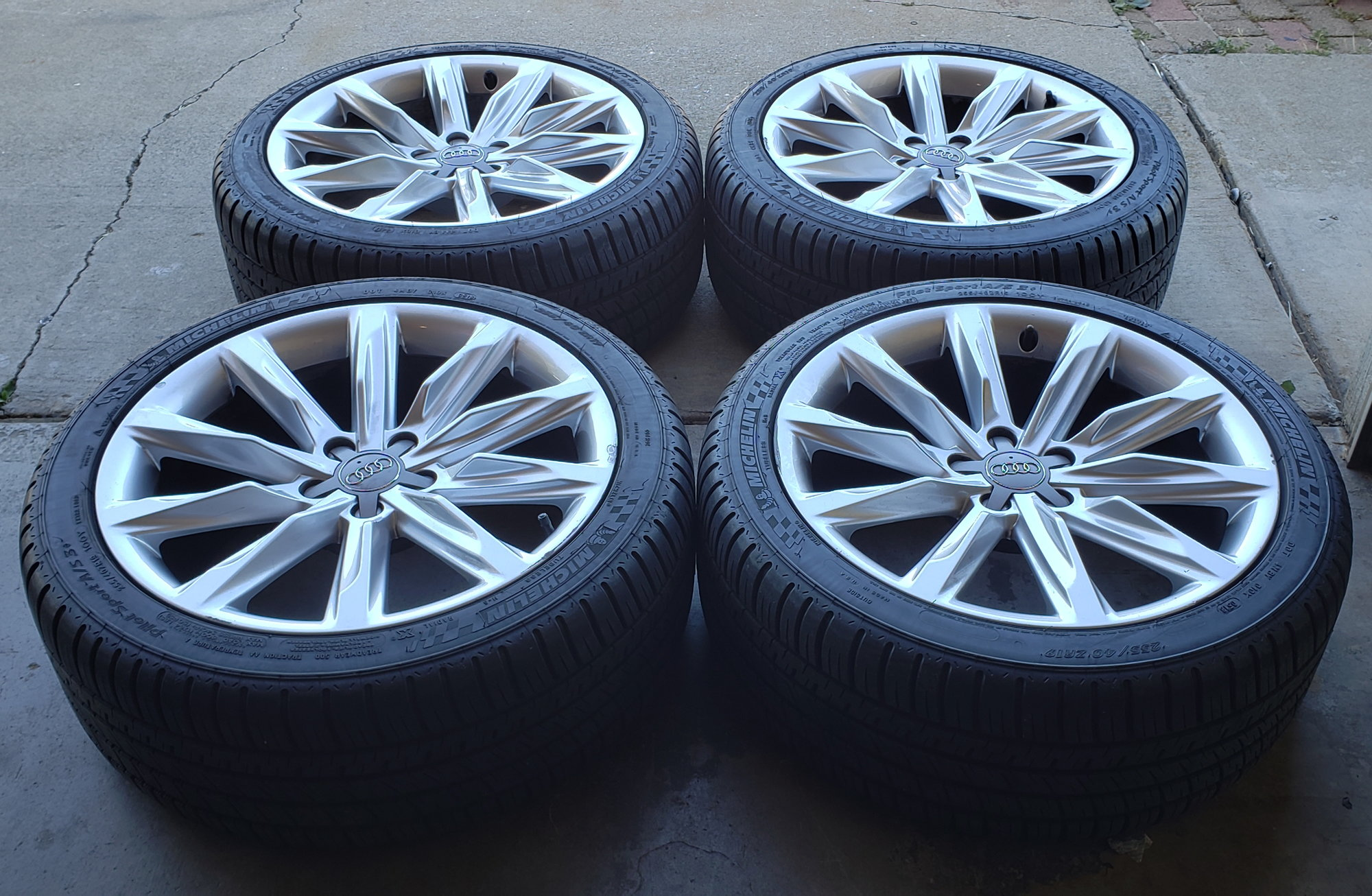 """Audi A7 OEM 19"""" Wheels With Tires"""