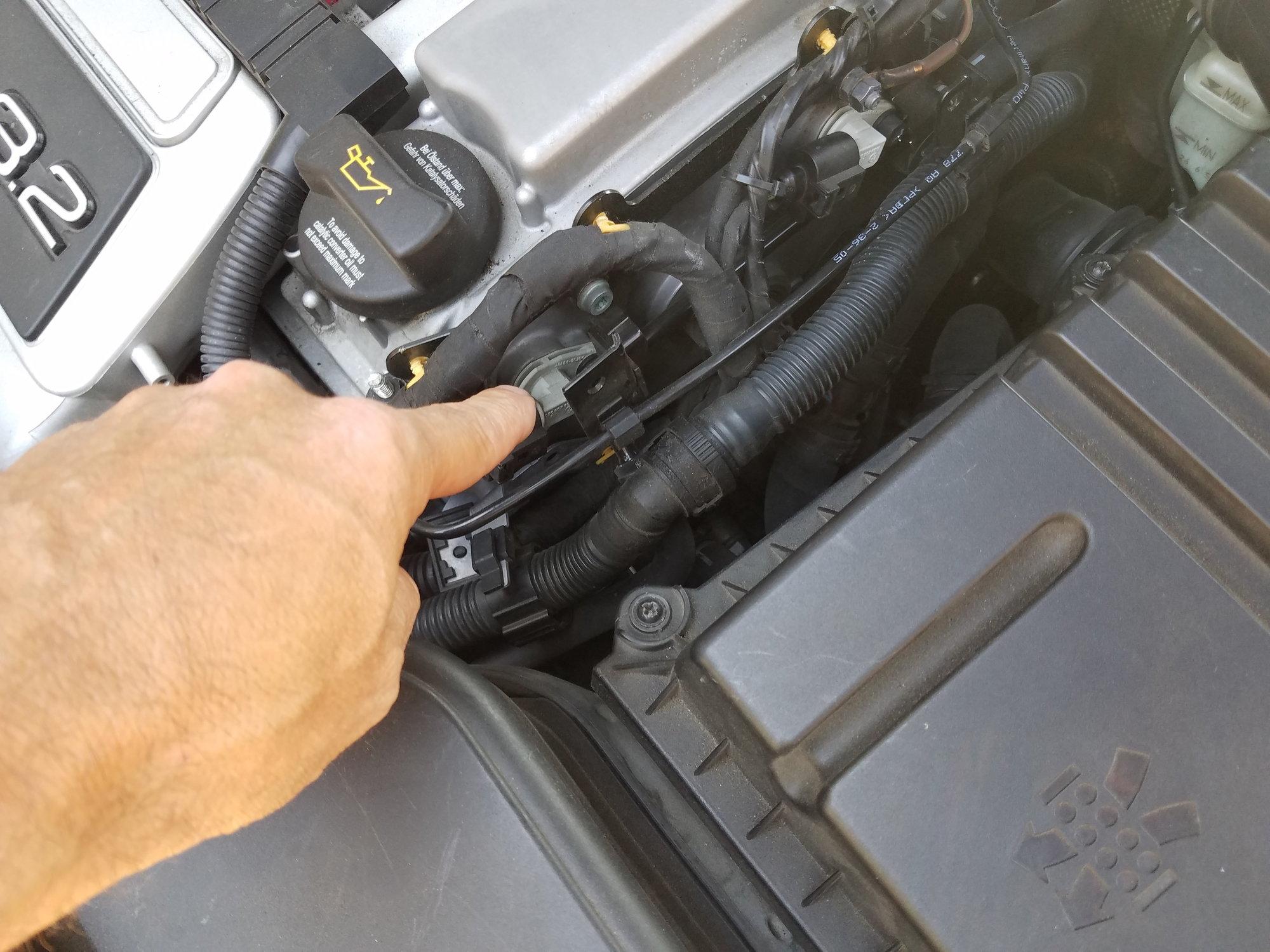 Crankshaft positioning sensor location? - AudiWorld Forums