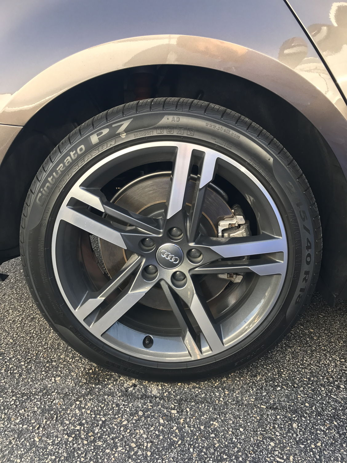 2013 Audi A4 For Sale >> Audi A4 2017 Audi A4 B9 18 inch OEM Wheels and Tires - AudiWorld Forums
