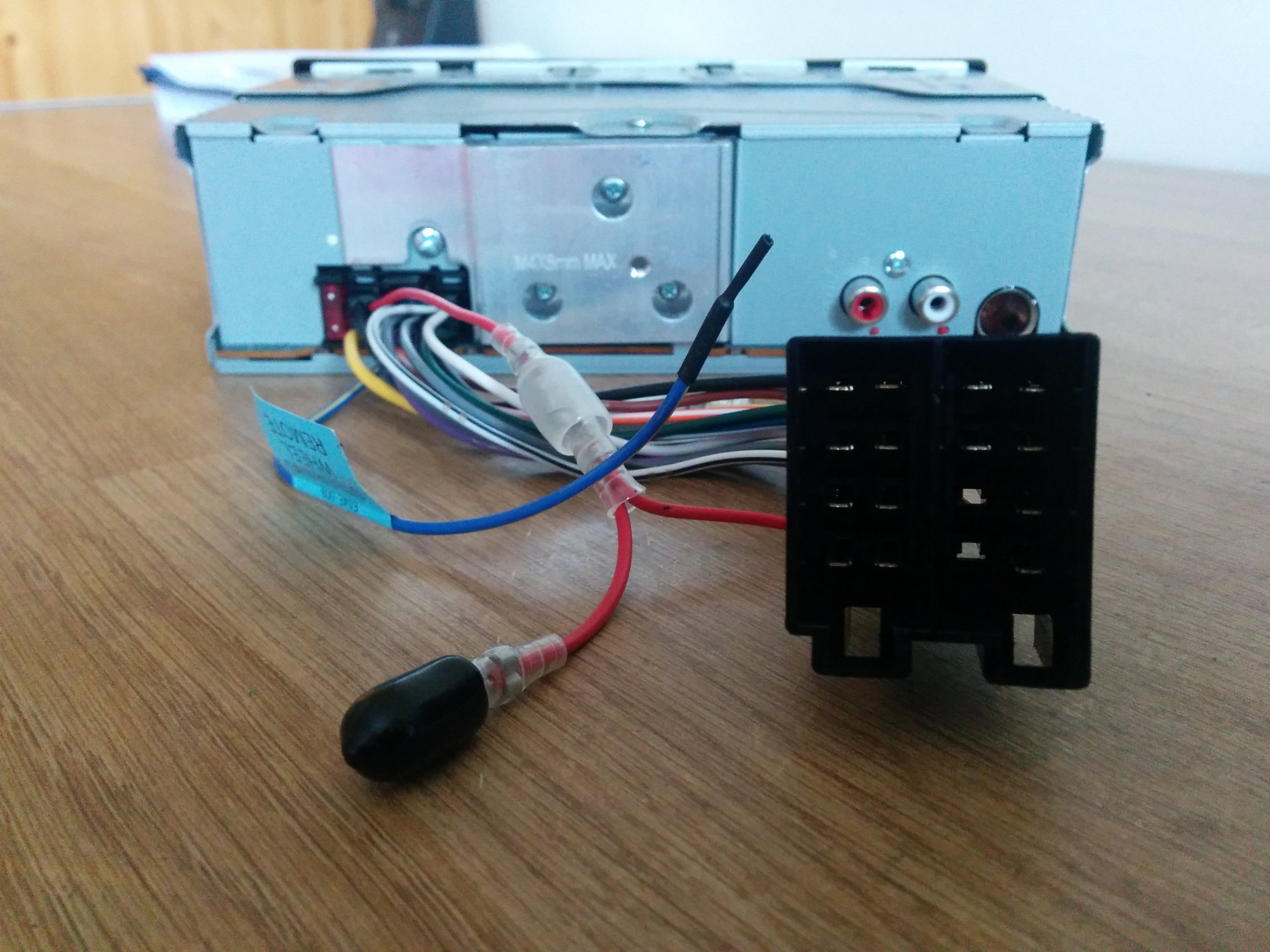 An Aftermarket Radio Without A Wiring Harness Audiworld Forums