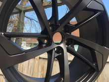 Satin Black Wheels
