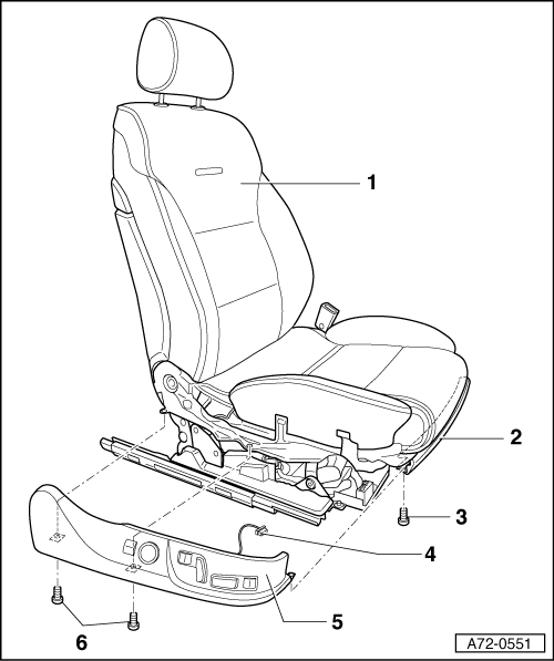 Removing Seat Switches