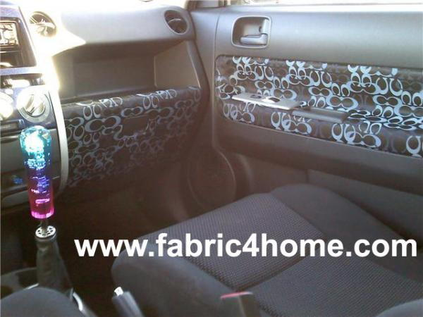 Toyota camry picture by fabric4home 7756523 camry forums - Burberry fabric for car interior ...