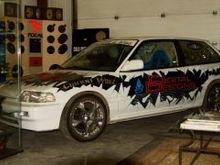 Liquid Audio demo car