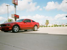"2012 3.7 Candy Red Metallic ""Roanstang"