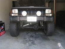 Winch bumper install
