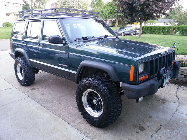 My first XJ 99 steel blue - Page 4 - Jeep Cherokee Forum
