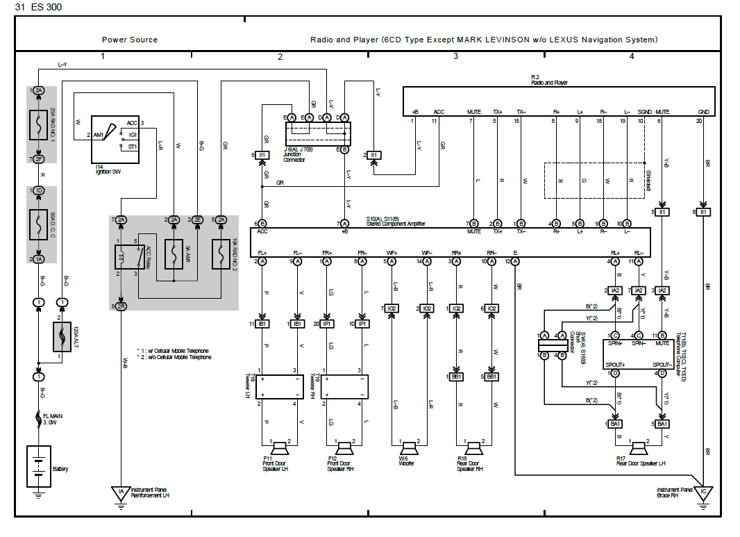 diagram] lexus es300 radio wiring diagram full version hd quality wiring  diagram - mvswiring.osservatoriodelbiellese.it  osservatorio