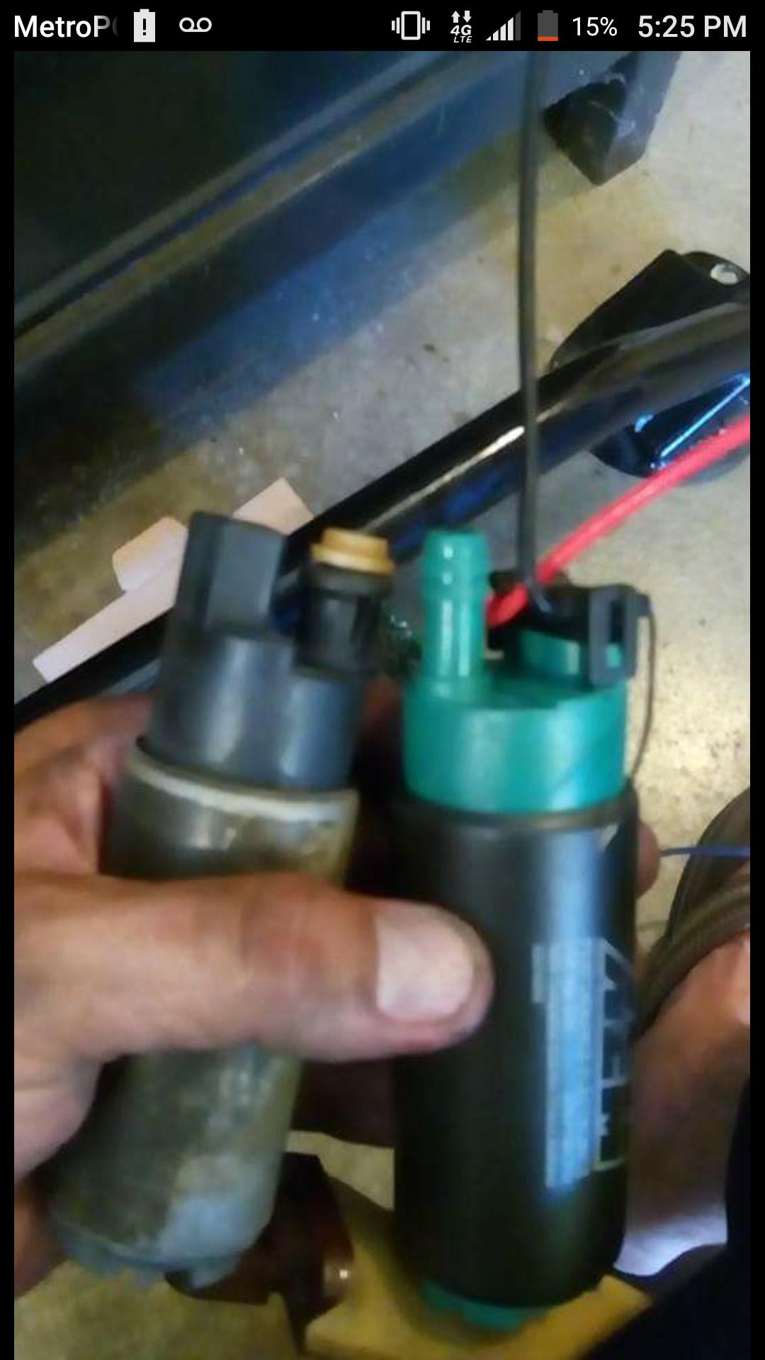 Fuel pressure gauge 1uzfe vvti - ClubLexus - Lexus Forum