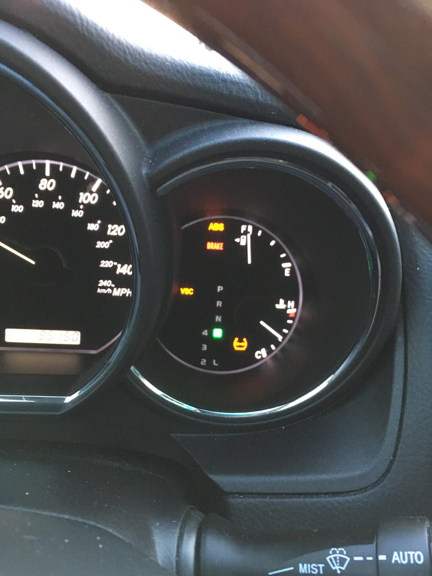 Help 2005 Rx330 Abs Break Vsc Tpms Flashing Clublexus Lexus Forum Discussion