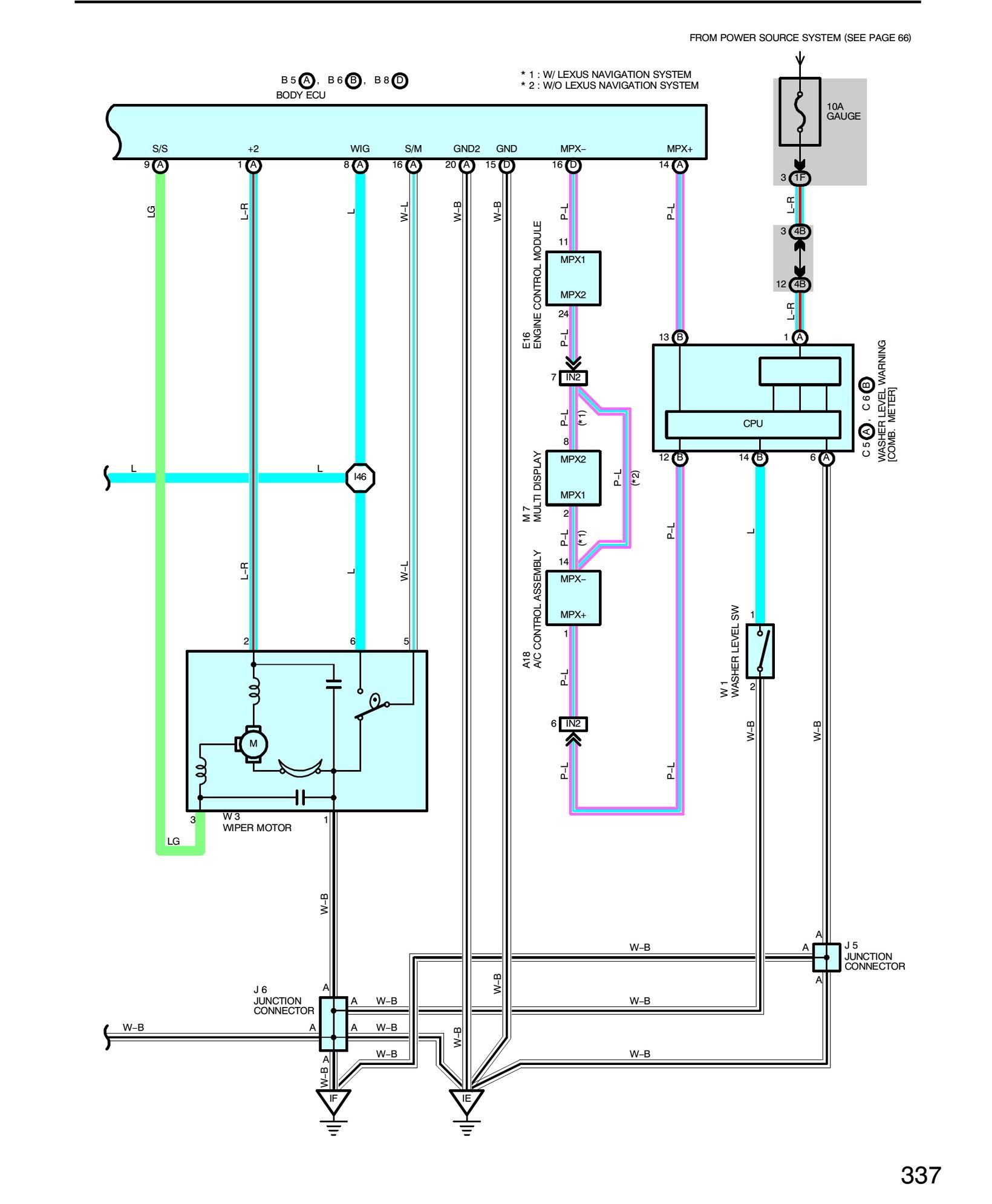 Ls400 Washer Pump Problem - Clublexus