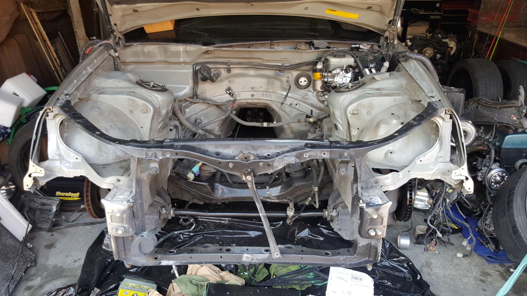 Toyota Supra Fuse Box Relocation Wiring Diagram 2jzgte Build Wire Tuck Clublexus Lexus 4runner