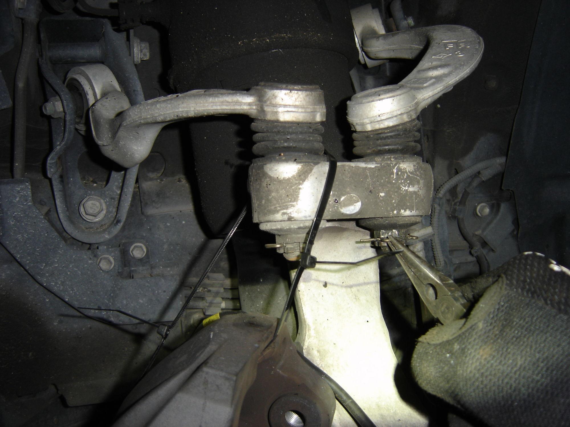 2008 Ls460l Upper Control Arm Bushing Repair A Step By
