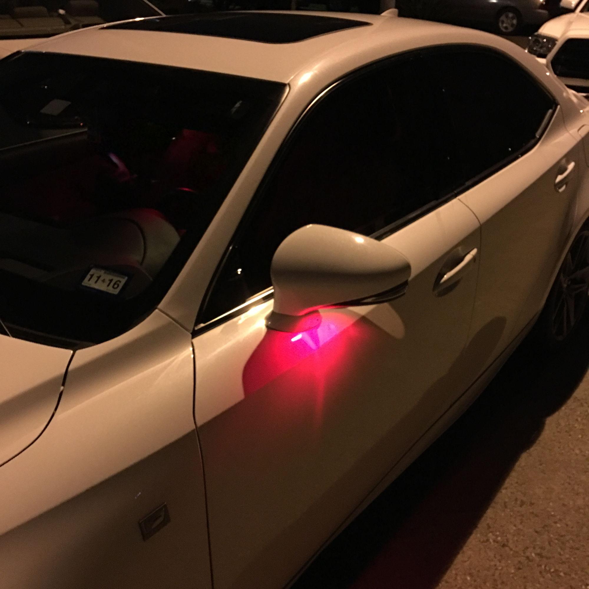 Change Side Mirrors Puddle Lights Clublexus Lexus