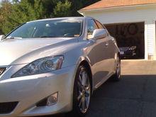 Garage - 2008 Lexus IS 350