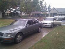 Lexus LS's