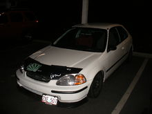 Garage - the whit3 car
