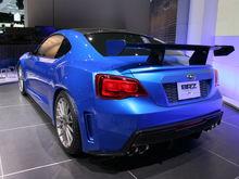 Subaru BRZ Concept STI rear