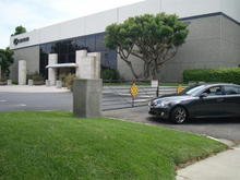 """Lexus HQ! Haha, as close as I can get to getting a pic w/ the """"Lexus"""" on the bldg."""
