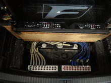 System Wiring -  2011 Lexus ISF ISS Forged Exhaust Figs Control arms, Pirelli Tires, KW V3 Coilovers, AZA Forged 3 Piece 20's, 100 Shot NOS Rockford Fosgate System by SMD