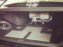 Rear trunk setup Air Setup Sound Setup