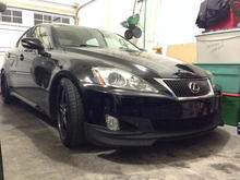 IS350 Wald Replica Front Lip
