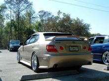 gs400 tan rear