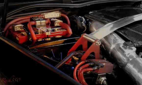 engine compartment by Rush 350