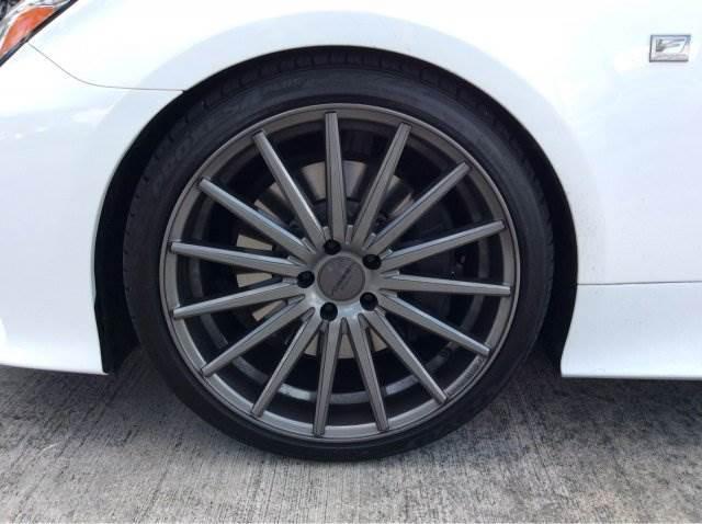 White RC 350 w/ Black trim + Vossens - ClubLexus - Lexus ...