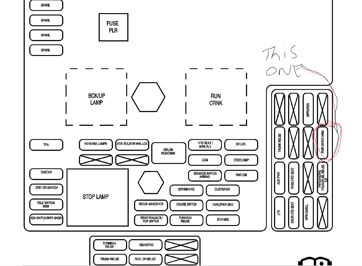 interior fuse box diagram  - corvetteforum